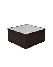 Abażur kwadrat 40 cm czarny