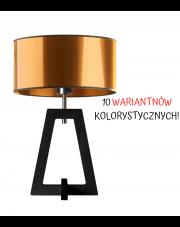 LAMPA NOCNA DREWNIANA BONO WALEC BRILLANTE