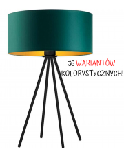 LAMPA NOCNA SOLARIS WALEC GOLD