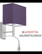 LAMPA ŚCIENNA KINKIET LED GRAND PROSTOKĄT CLASSIC