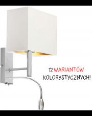 LAMPA ŚCIENNA KINKIET LED GRAND PROSTOKĄT GOLD